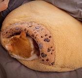 貓窩 貓窩半封閉式深度睡眠被子睡袋貓咪窩防寒冬天被窩貓床上冬季保暖【快速出貨八折搶購】