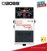 【金聲樂器】BOSS TU-3 Chromatic Tuner 半音階 調音器 (單顆效果器)
