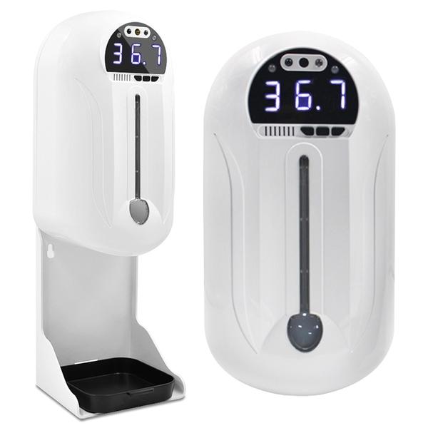 【免運+3期零利率】全新 HK8 智慧感應測溫洗手兩用機 附專用支架 紅外線測溫立體底座 非醫療器材