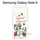 迪士尼空壓氣墊軟殼 [Q版] 米奇米妮 三星 Galaxy Note 8 N950FD (6.3吋)【Disney正版】