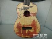 出口21寸夏威夷烏克麗麗木質兒童吉他四弦琴S型烏克裡裡YJT 交換禮物