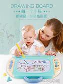 交換禮物 聖誕 兒童畫畫板磁性寫字板寶寶1-3歲2嬰幼兒磁力彩色超大號涂鴉板玩具igo 時尚教主