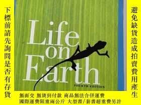 二手書博民逛書店Life罕見on Earth FOURTH EDITION[地球上的生命第四版 含盤]原版 庫存Y6318 A