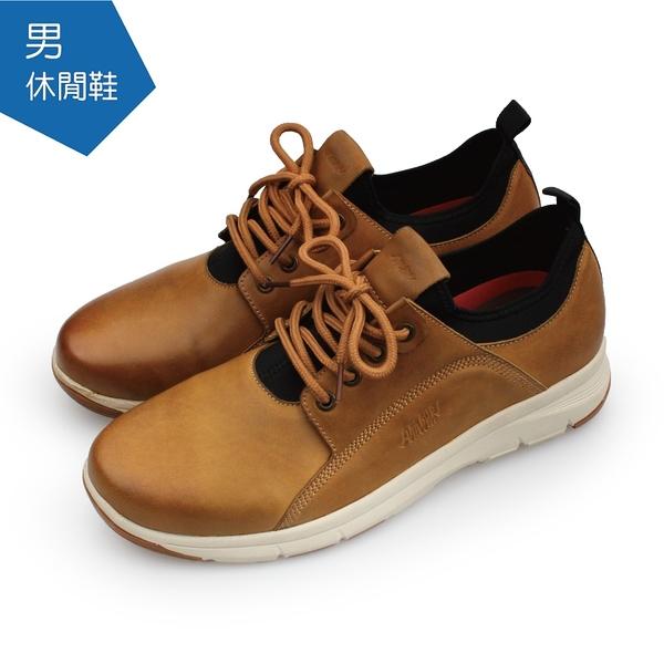 【A.MOUR 經典手工鞋】休閒鞋系列 - 蠟棕 / 平底鞋 / 柔軟皮革 / 透氣舒適 / DH-9512