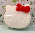 【震撼精品百貨】Hello Kitty 凱蒂貓~三麗鷗 KITTY 響板玩具-白#62956