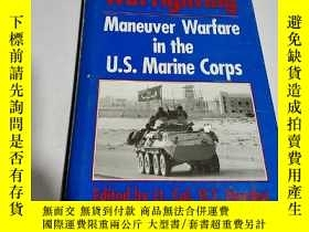 二手書博民逛書店Warfighting罕見Maneuver warfare in
