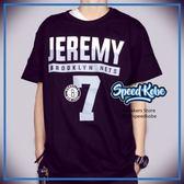創信 NBA 短袖 短T 籃網 黑 Jeremy #7 號碼T 8730257-003 【Speedkobe】