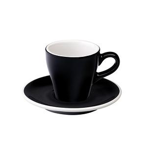 Loveramics Pro-Tulip濃縮咖啡杯盤組-共6色黑