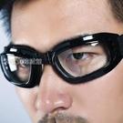 電焊眼鏡折疊透明護目鏡勞保防飛濺打磨眼罩防塵防風沙騎行防護眼鏡男女 快速出貨