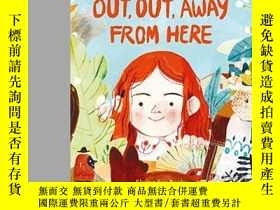 二手書博民逛書店Out,罕見Out Away From HereY256260 Rachel Woodworth Flying
