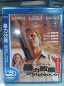 影音專賣店-Q00-601-正版BD【暴力效應】-藍光電影