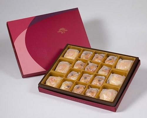 金饌 綜合18入禮盒(綠豆椪*3+純綠豆椪*3+沖繩黒糖蛋黃酥*12)