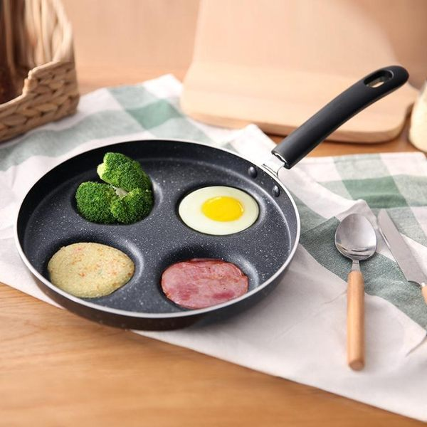 煎蛋鍋不粘平底鍋家用迷你煎雞蛋荷包蛋漢堡蛋餃鍋模具煎蛋器神器
