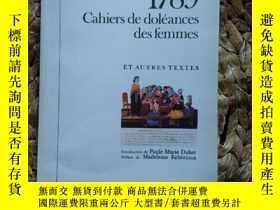 二手書博民逛書店1789罕見Cahiers de silences see femmesY137730 ET Autres t