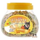【寵物王國】PANTOP邦比-消臭骨型餅(雞肉起司+綠色野菜)650g