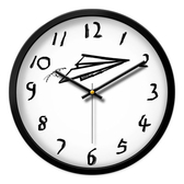藝術掛鐘 北歐ins風現代簡約個性客廳大靜音掛鐘 美式創意時尚藝術家用時鐘