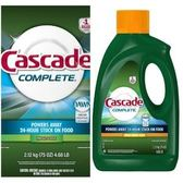 美國Cascade 8X洗碗機洗碗粉/精-柑橘(75oz)*2
