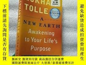 二手書博民逛書店A罕見New Earth: Awakening to Your