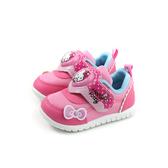 Hello Kitty 凱蒂貓 休閒鞋 電燈鞋 魔鬼氈 桃粉色 小童 童鞋 719841 no801