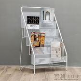 兒童書架簡易書報架-大號5層