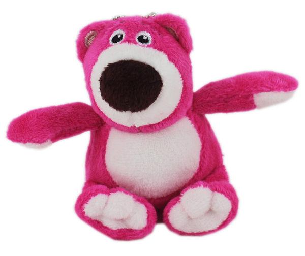 【卡漫城】熊抱哥 迷你 8.5cm 玩偶 ㊣版 玩具總動員 Toy Story 絨毛娃娃 附鍊珠 背包吊飾