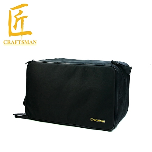 【敦煌樂器】Craftsman BCJR-BK 雙後背式木箱鼓袋 黑色款