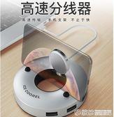 USB分線器多接口轉換器筆記本電腦一拖六多功能集線器HUB多孔 繽紛創意家居