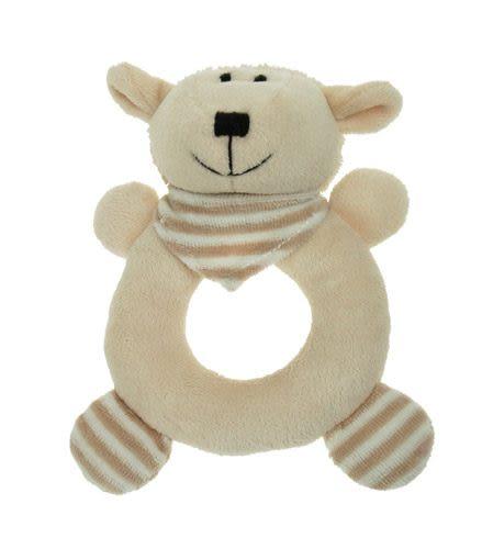 法國Doudou 安撫巾系列滿月禮盒組小柔羊 (3 pcs)【Les Petites Marie】