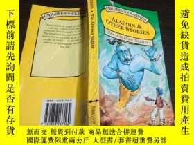 二手書博民逛書店英法德意等原版外文罕見Aladdin and Other Tal
