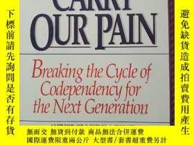 二手書博民逛書店Kids罕見who carry our pain(英文原版)Y6
