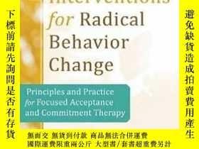 二手書博民逛書店Brief罕見Interventions For Radical ChangeY255562 Kirk Str