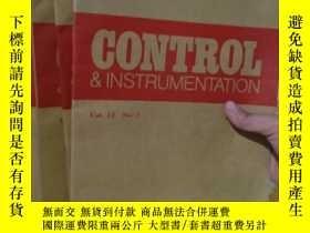 二手書博民逛書店罕見實拍;GONTROL INSTRUMENTATION JULY 1983 VOL 15NO 【4 5 6 7】