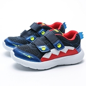 SKECHERS DYNA LITE 黑藍 鯊魚 黏帶 運動 慢跑 童鞋 小童(布魯克林) 98015NNVRD