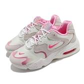Nike 休閒鞋 Wmns Air Max 2X 米白 粉紅 女鞋 復古慢跑鞋 氣墊 運動鞋 【ACS】 DD8484-161