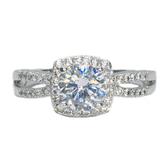 【御鑽利保】GIA F color 30分18K金鑽石戒指 凡購買30分以上 一年內八折回收 一年後全折回收