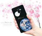 [A530F 軟殼] 三星 Samsung Galaxy A8 (2018) 手機殼 外殼 地球月球