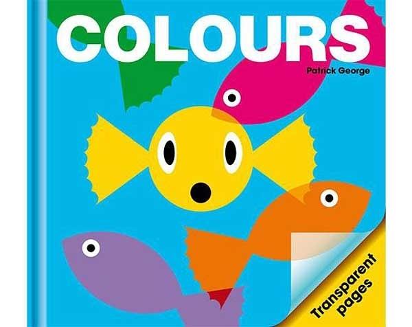 Colours 顏色 精裝膠片書