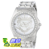 [104美國直購] Marc Ecko Men s E95016G6 White Dial Bracelet Watch