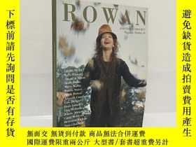 二手書博民逛書店ROWAN罕見KNITTING & CROCHET Magazine Number 40Y174741 ROW