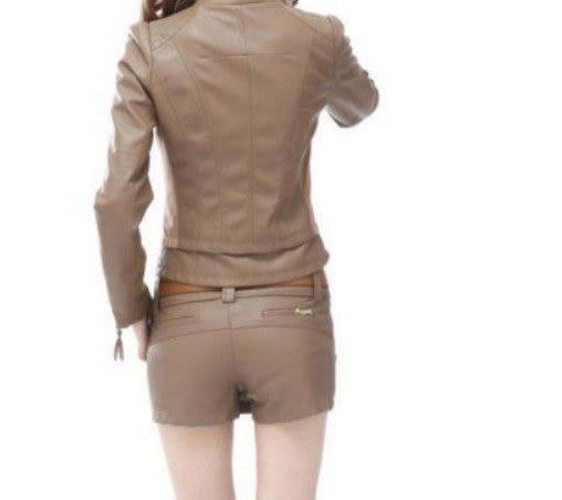 PU皮褲裙
