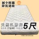 【嘉新名床】天然乳膠床《7公分/標準雙人...