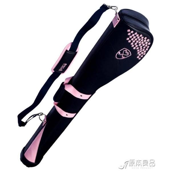 高爾夫球包包 f高爾夫球包女士槍包 時尚繡花球桿袋 攜帶輕鬆【快速出貨】