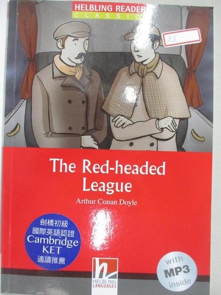 【書寶二手書T7/語言學習_GKW】The Red-headed League_Doyle, Arthur Conan