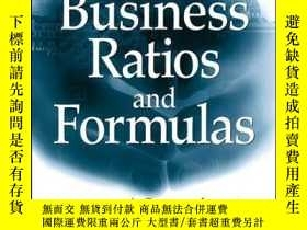 二手書博民逛書店Business罕見Ratios and Formulas: A Comprehensive Guide, 2nd