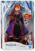 《 Disney 迪士尼 》冰雪奇緣2 歡唱公主組 - 安娜╭★ JOYBUS玩具百貨