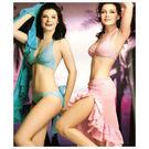 鑲-二件式比基尼女泳裝(水藍色).兩件式泡湯SPA泳衣.2件式游泳裝.三點式泳裝.比基尼.推薦哪裡買
