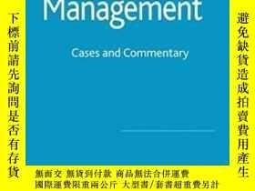 二手書博民逛書店Talent罕見Management: Cases And Commentary-人才管理:案例與評述Y436