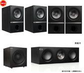 英國KEF Q100 5.1家庭劇院揚聲器系統 Uni-Q同軸同點+DENON AVR-X2100W擴大機+先鋒 BDP180 播放機 公貨
