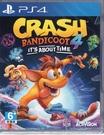 現貨中 PS4遊戲 袋狼大進擊 4 時空之旅 Crash Bandicoot 4 英文版【玩樂小熊】