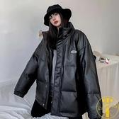 棉服女寬鬆冬季大碼加厚保暖面包服棉衣外套【雲木雜貨】